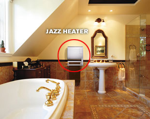 Jazz Heater Bathroom
