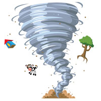 Tornado Cartoon