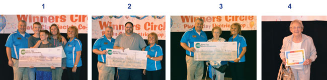 PCEC Annual Meeting Grand Prize Winners