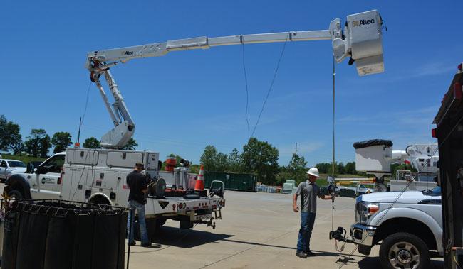 Bucket Truck Testing