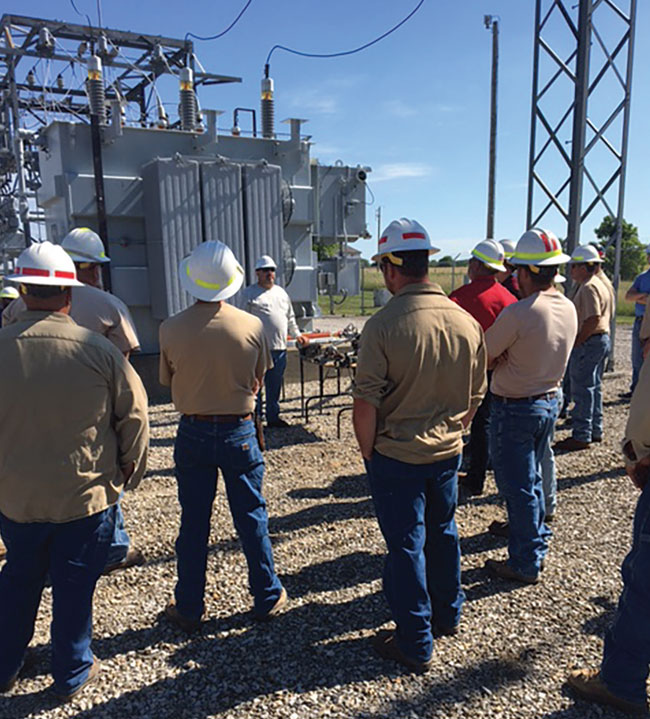 Safety First Substation Training