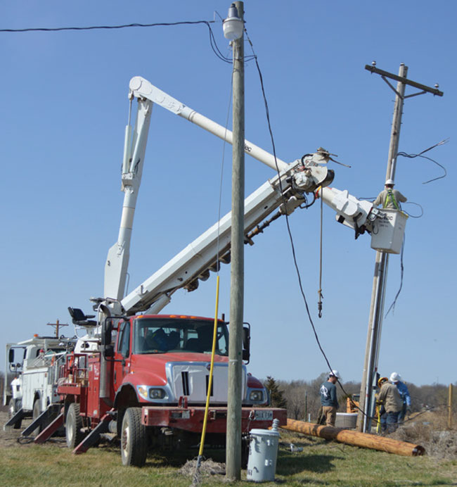 Restore Electric Service After March Tornado