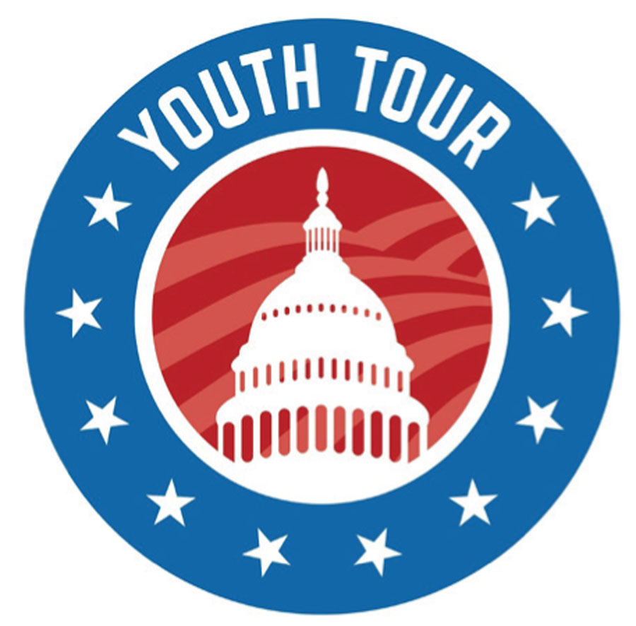 Youth Tour Logo Platte Clay Electric Cooperative